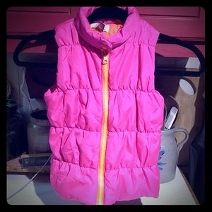 Girl's L.E.I. Pink Puffer Vest